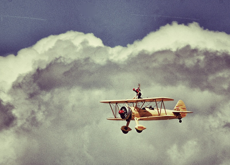 Photograph Wing walking by Thomas Weitzel on 500px
