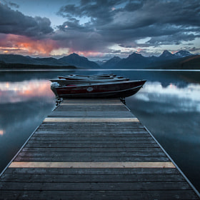 Dock at Lake McDonald