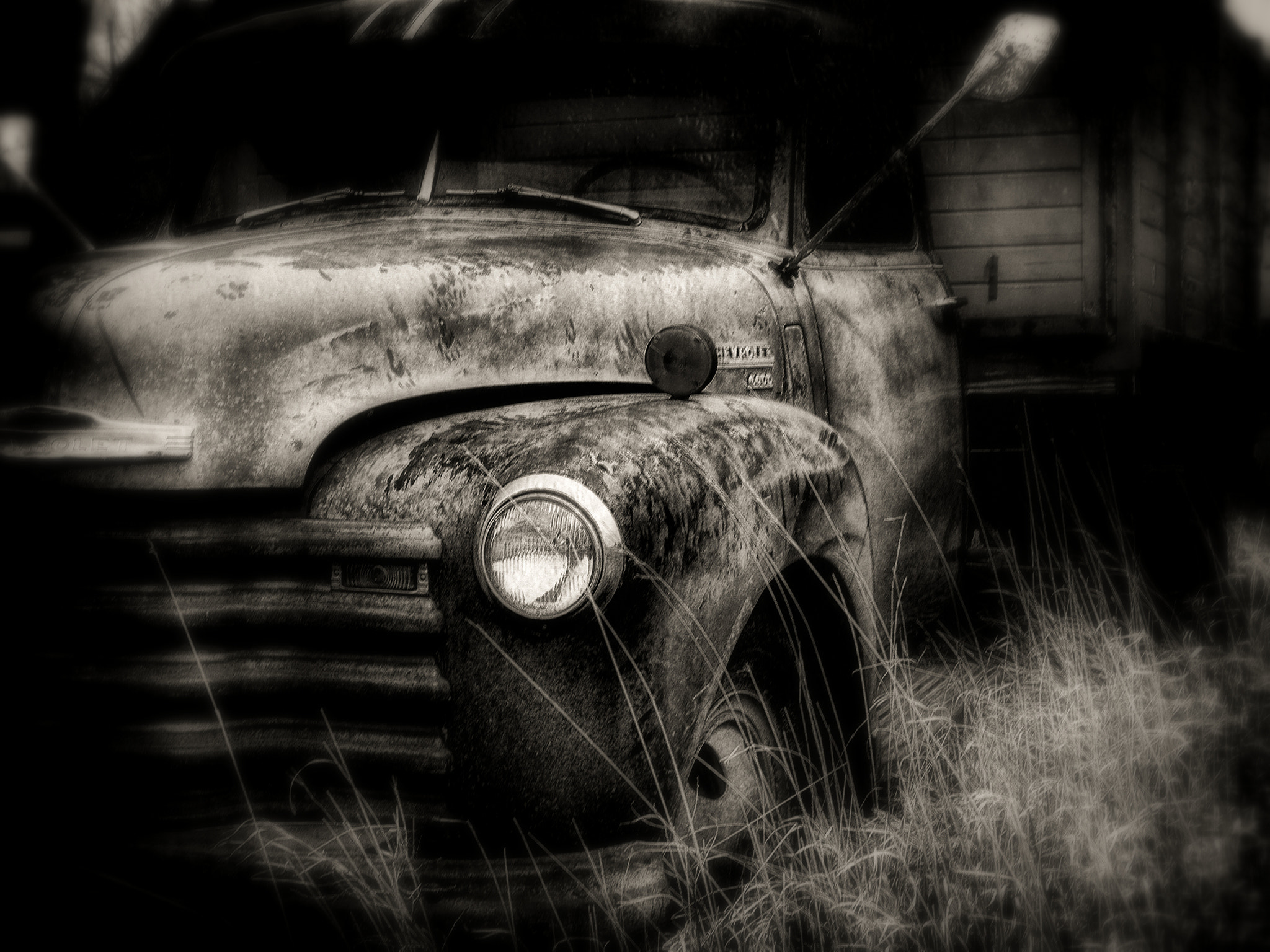 Photograph Used Up, Black and White Version by Dave Linscheid on 500px
