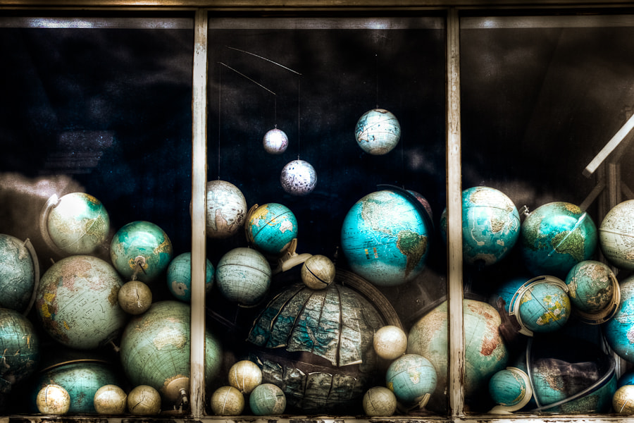 Photograph Globes by Ton Heijnen on 500px