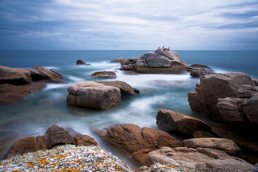 Photograph Rocks and water by Cyril Fontaine on 500px