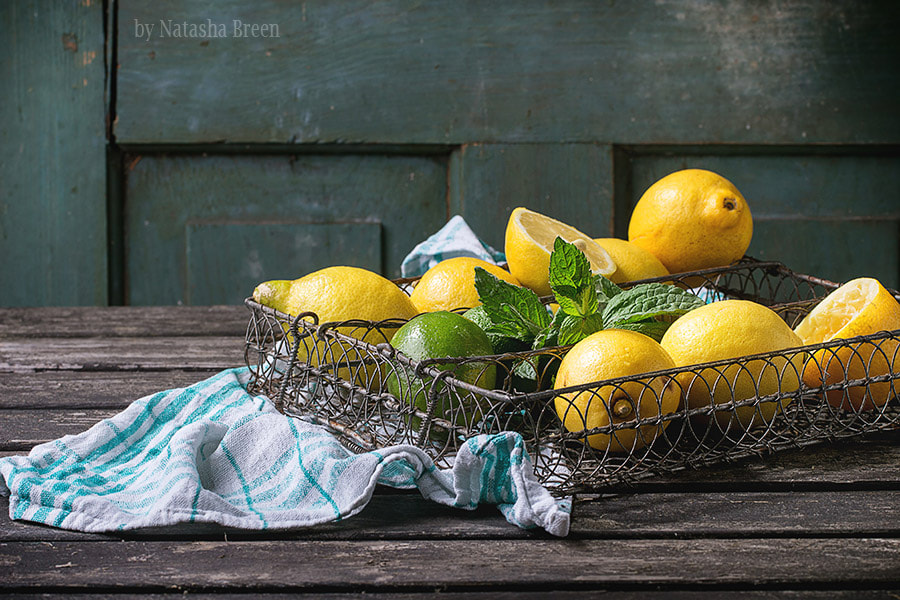 Lemons, Limes and Mint by Natasha Breen on 500px.com