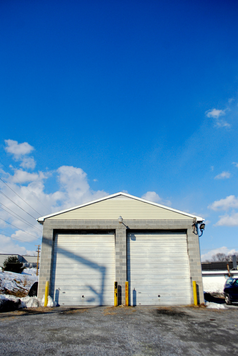 Photograph Blue sky over garage by Dan Hauk on 500px