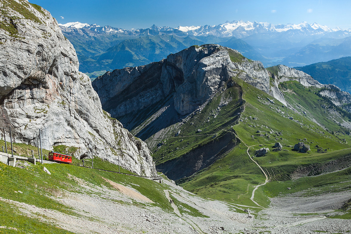 Photograph Pilatus railway by Sasipa Muennuch on 500px