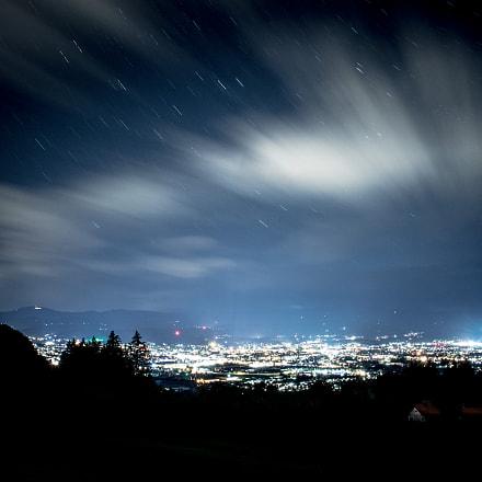 Klagfenfurt at night