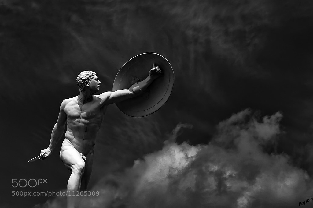 Photograph warrior by kozlowski pawel on 500px