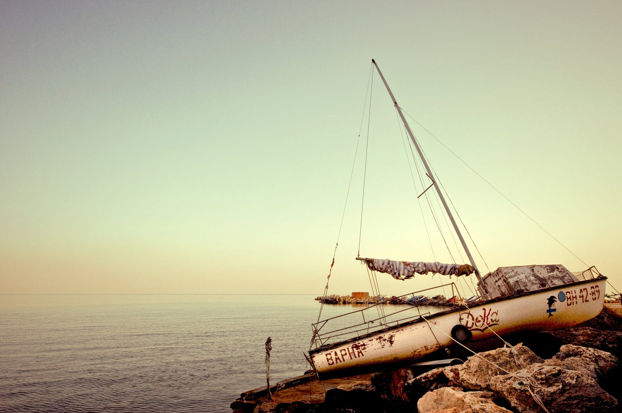 Photograph Bulgarian boat by Bev Y. on 500px