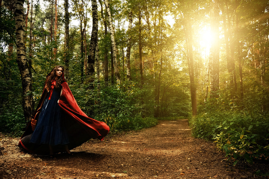 Photograph Red Riding Hood by Alexander Melanchenko on 500px