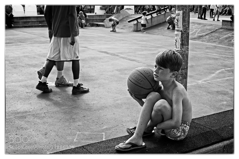 Photograph The Basketball Kid by Kenneth Nederskov on 500px