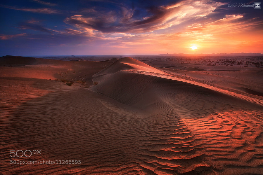 Photograph the shadow of Dune by sultan alghamdi on 500px