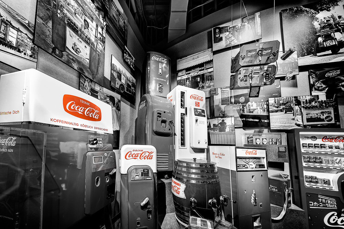 Photograph Old Style Coca-Cola Vending Machines by Ellen Yeates on 500px