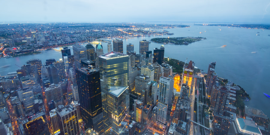 View from Freedom Tower by Arun Sundar on 500px.com