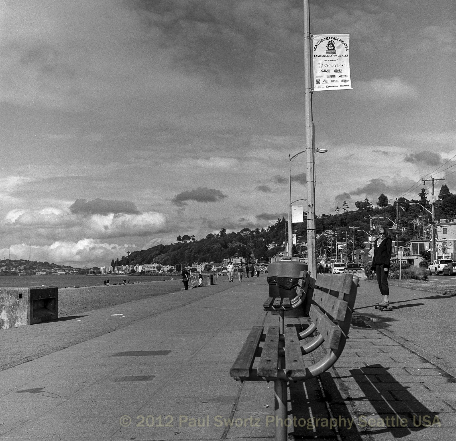 Photograph Alki Beach, June 2012 by Paul Swortz on 500px