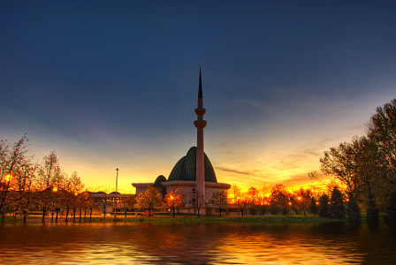 Mosque in Zagreb by Boris Frkovic