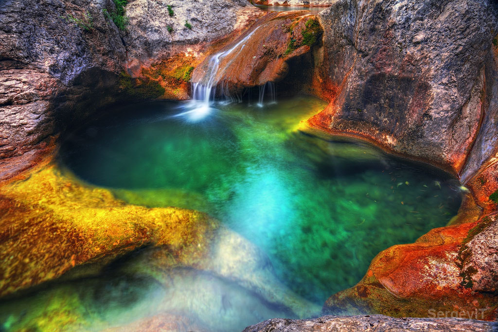 Photograph stream between stones of Crimea canyon  by Sergiy Trofimov on 500px
