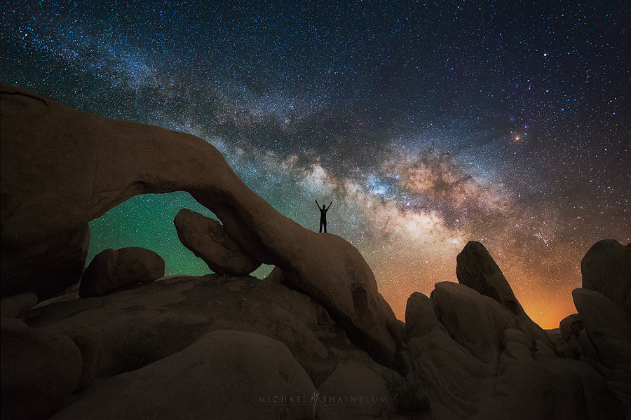 Photograph Reach Out and Touch the Sky by Michael Shainblum on 500px