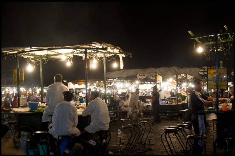 Photograph Marrakech by night by Alexandra Oancea on 500px