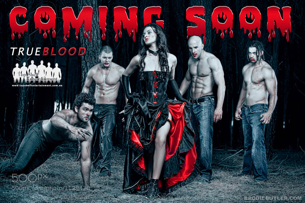 Photograph Top Shelf Entertainment True Blood Poster by Brodie Butler on 500px