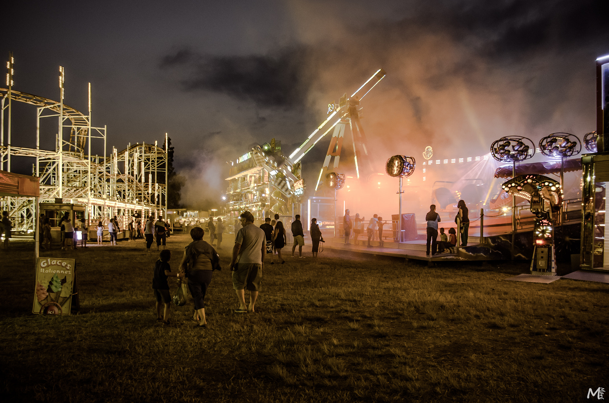 Photograph Creepy Fun Fair by Mathieu Maré on 500px
