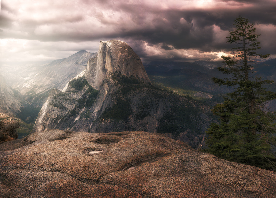Photograph Half Dome's Audience by Nathan Merrill on 500px