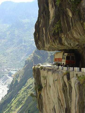 Photograph Road cuted in hill amazing view   by Sandeep  Rana on 500px