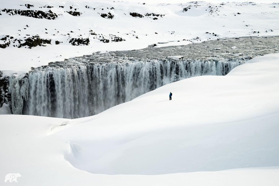 Freezing Waterfall by Chris  Burkard on 500px.com