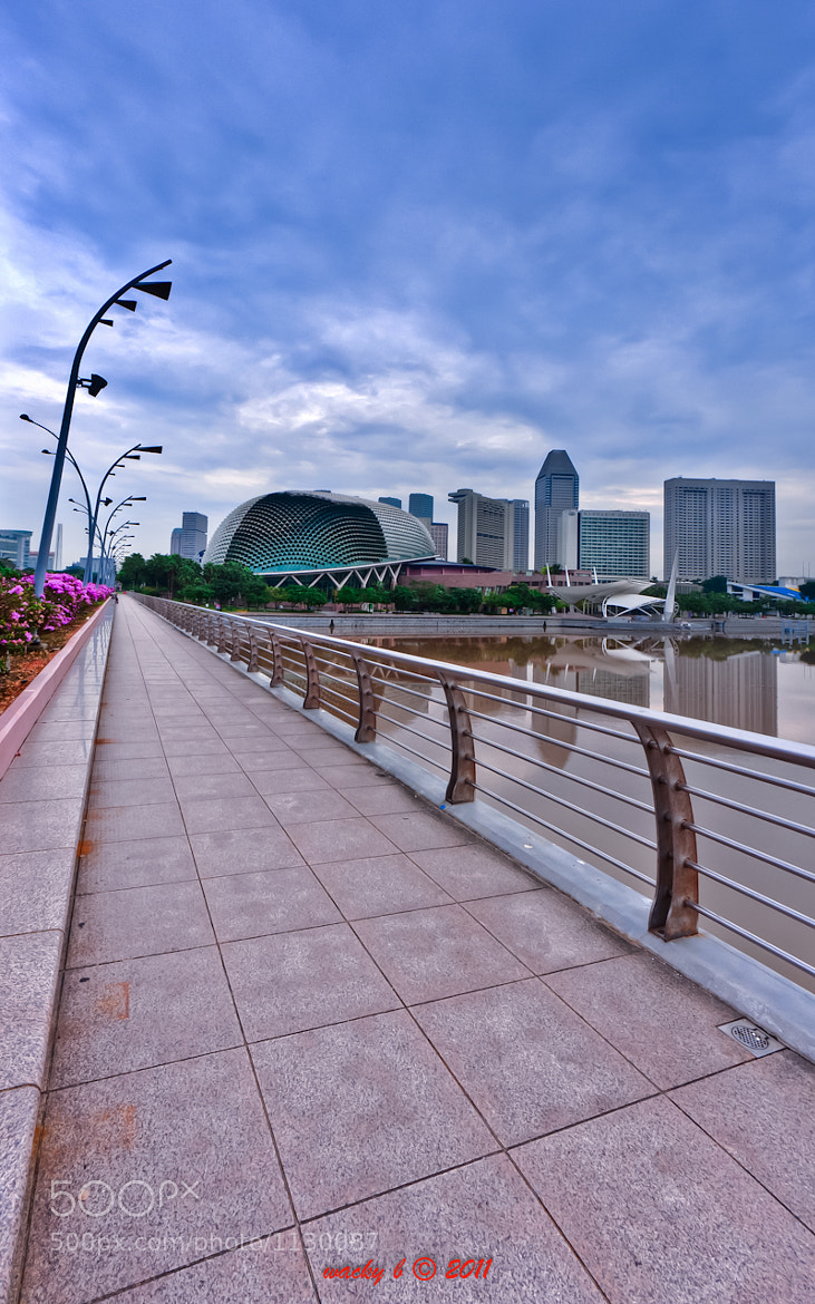 Photograph Esplanade by Wacky Benedicto on 500px