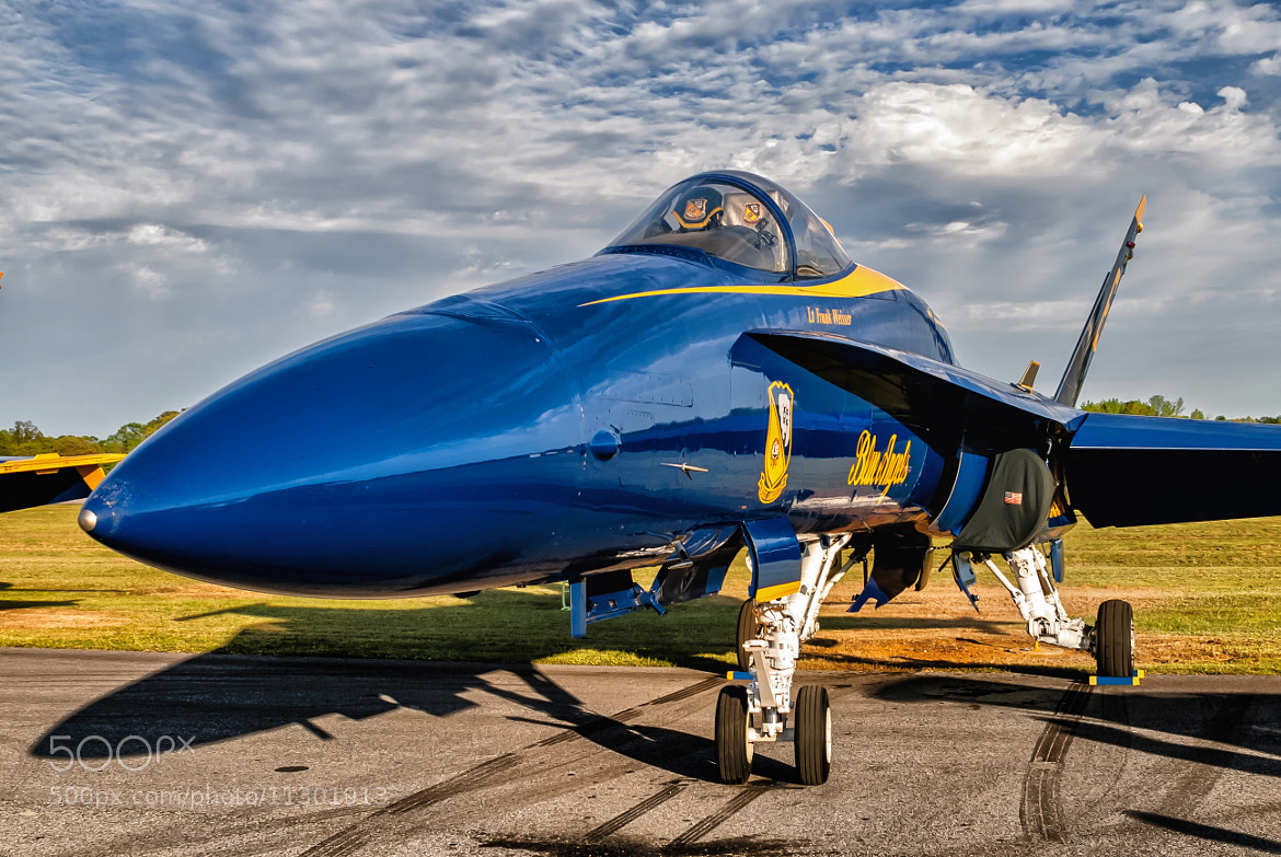Photograph Blue Angels Hornet by Chris Buff on 500px