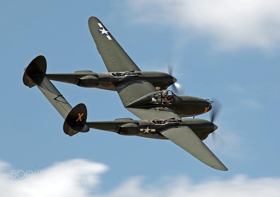 Lockheed, P-38 Lightening.
