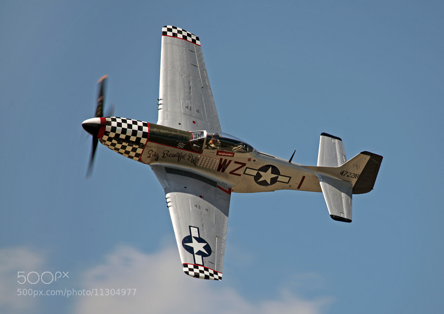 North American Aviation P-51D Big Beautiful Doll, Thunder Over Michigan 2012.