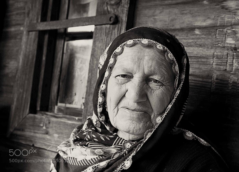 Photograph Cotton Aunt (B&W) by Ahmet Yeşil on 500px