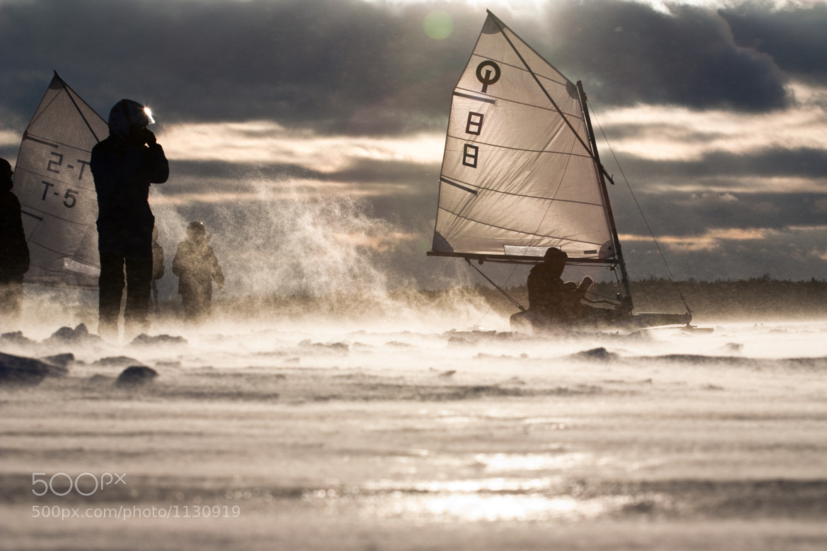 Photograph Junior ice-sailing competition by Andrius Repsys on 500px