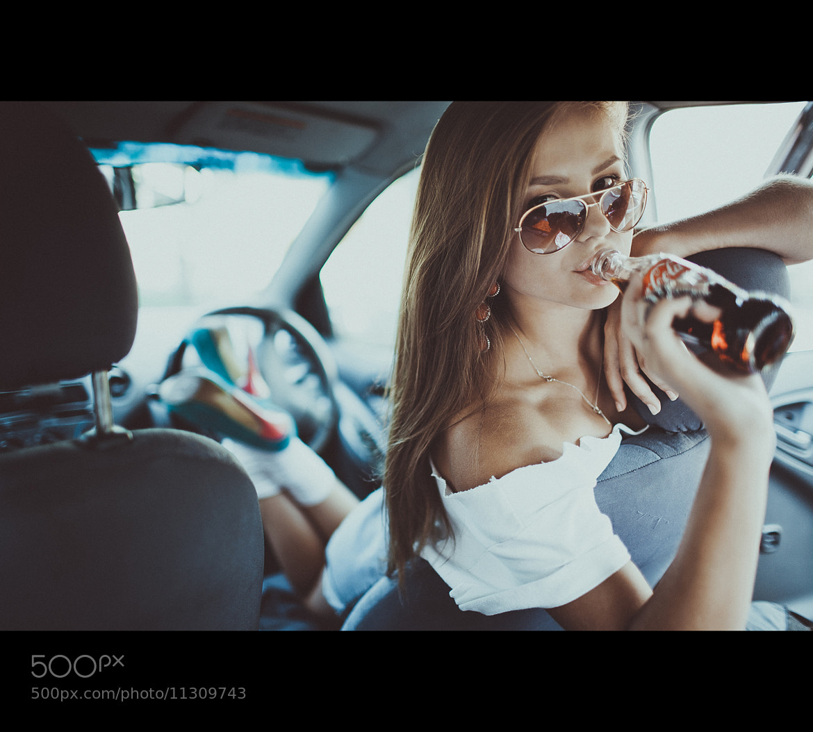 Photograph Coca-Cola Girl :) by Pavel Lepeshev on 500px