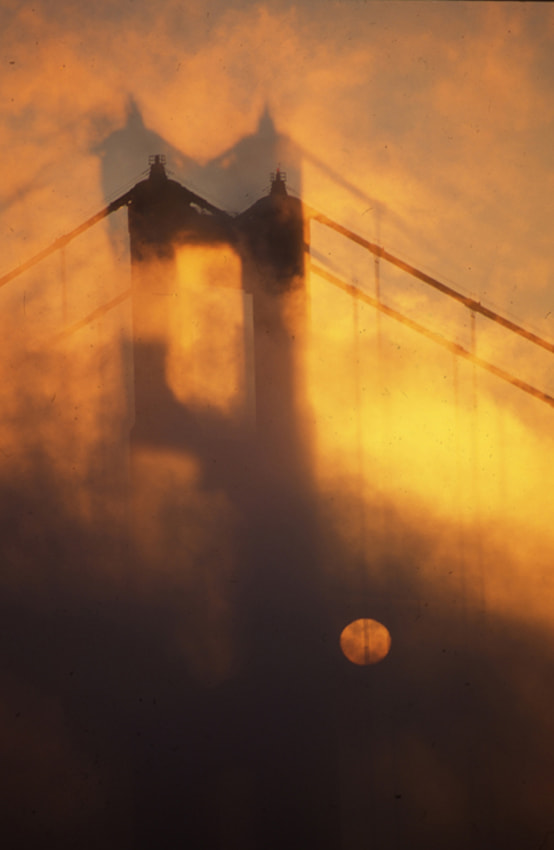 Photograph Sun Rise at Golden Gate Bridge by Blindman shooting on 500px