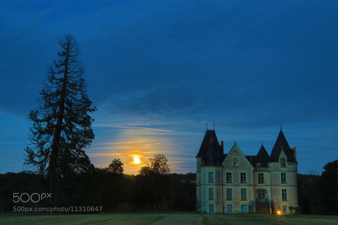 Photograph Moonshine Castle by Alessandro Fedeli on 500px