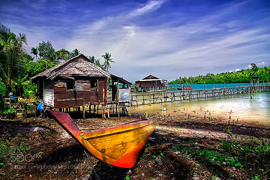 Photograph home fishing by Eddy Hermansyah on 500px