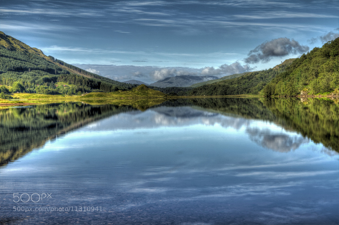 Photograph Early Morning At Loch Lubhair by Dave Murray on 500px