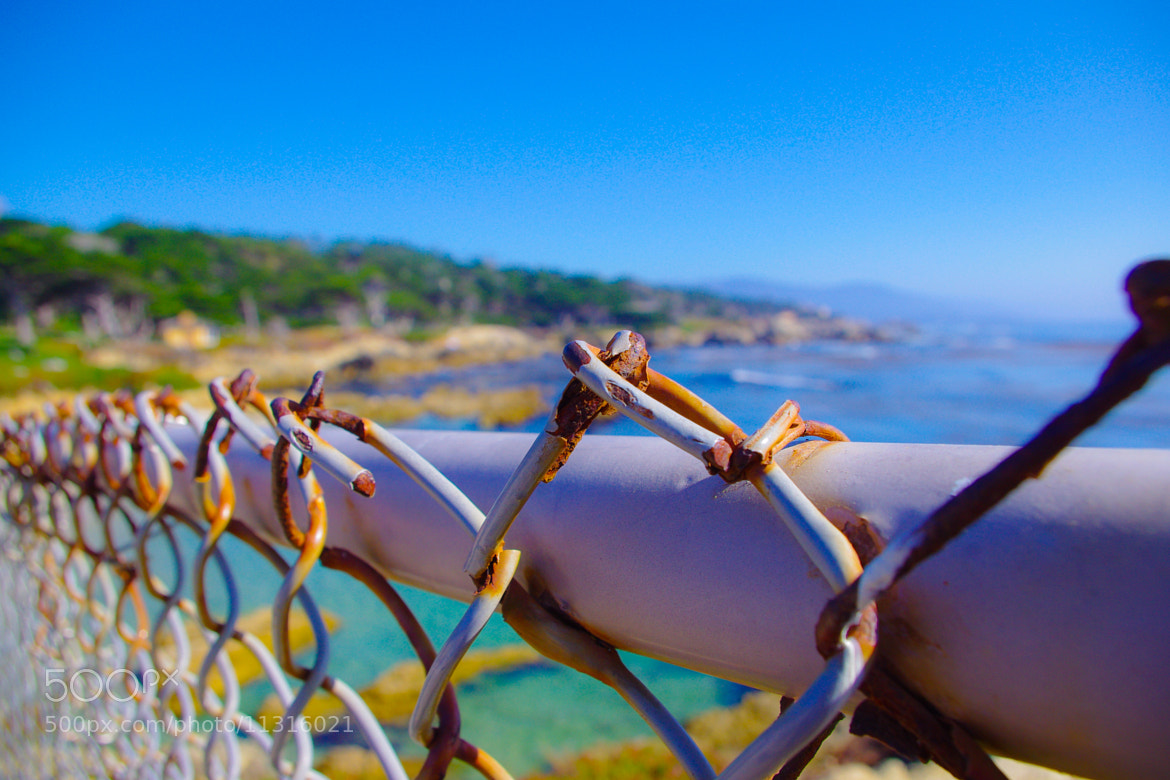 Photograph Fenced Ocean by Jherell Rabanal on 500px
