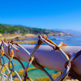 Fenced Ocean by Jherell Rabanal (Xpand)) on 500px.com