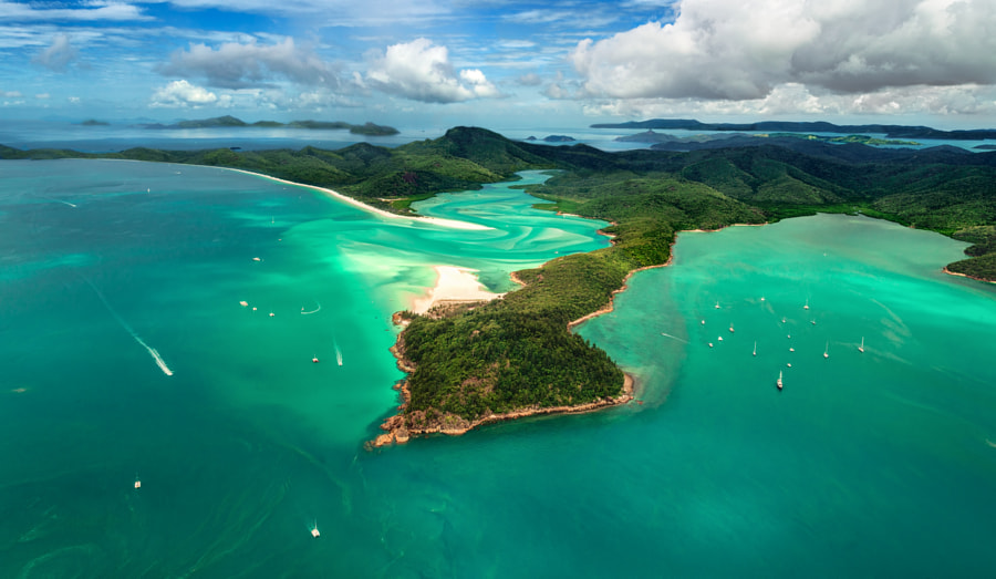 Photograph Whitehaven Beach by Bipphy Kath on 500px