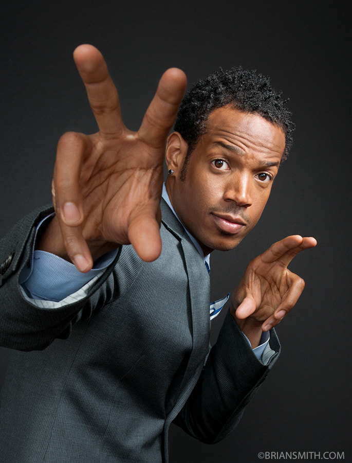 Photograph Marlon Wayans photographed for Art & Soul by Brian Smith on 500px