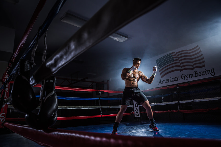 American Gym Boxing + Jeremiah by Pye Jirsa on 500px.com