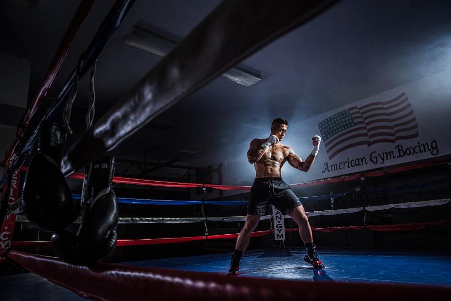 American Gym Boxing + Jeremiah by Pye Jirsa on 500px.com