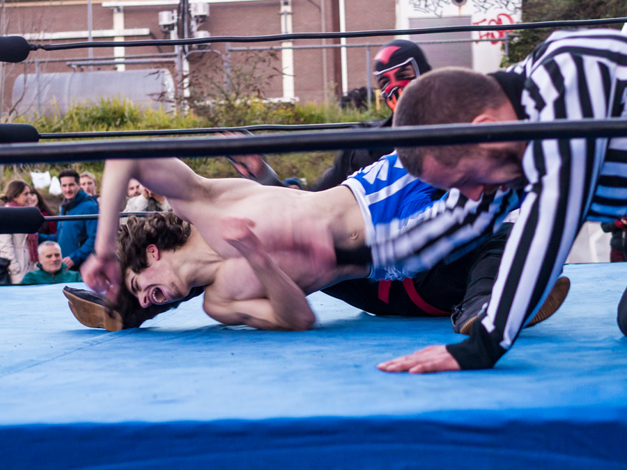 Photograph Winter Magic 2015 Wrestling by Travis Chau on 500px