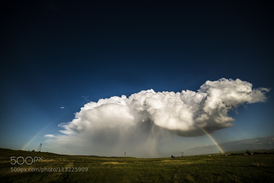 Rainbow by Landscapeaddict