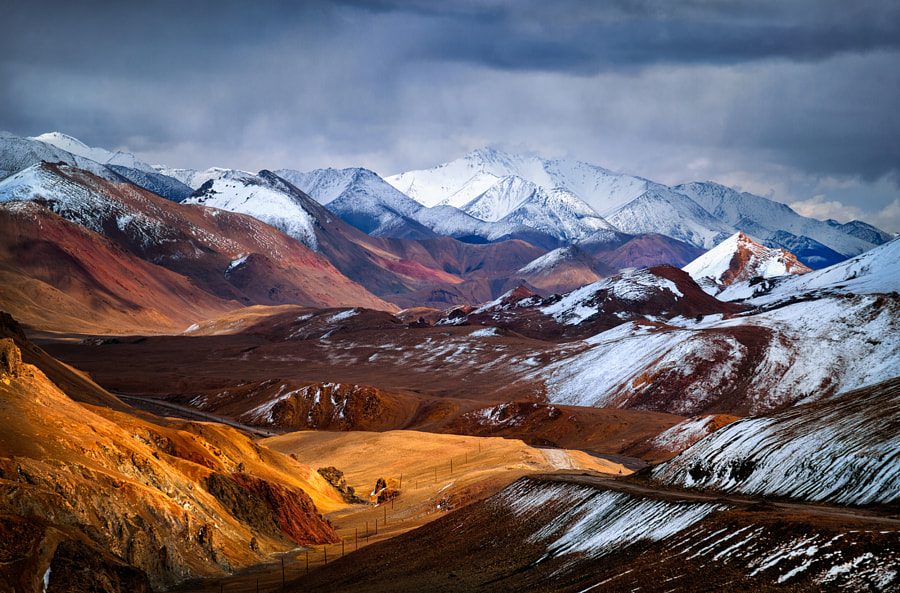 The view from the pass Akbaital by Birukov Yury on 500px.com