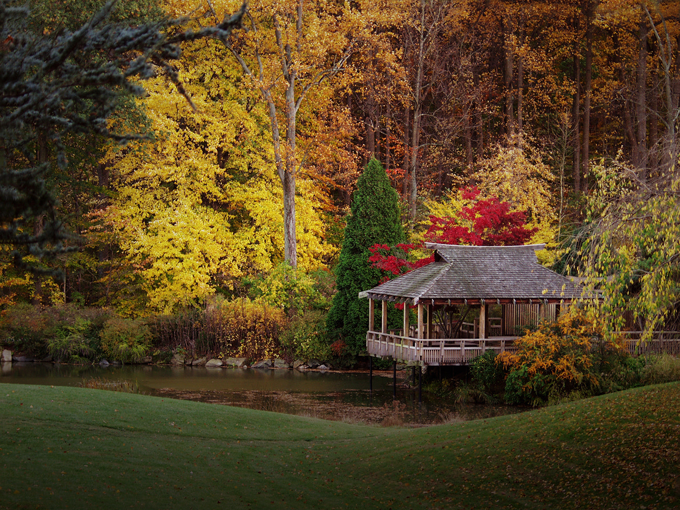 Photograph Teahouse at Brookside Garden by Gregory Cross on 500px