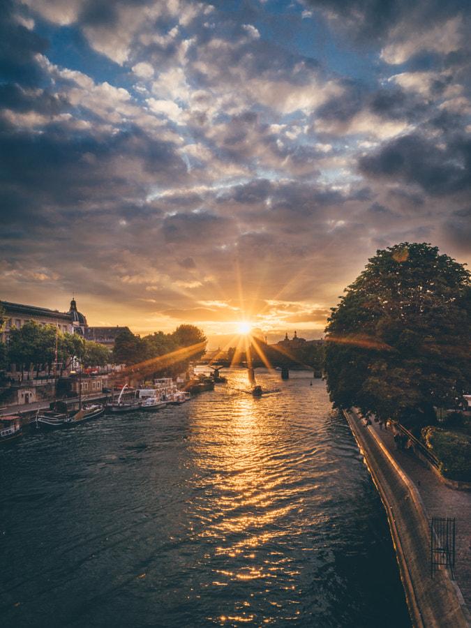 Sunset in Paris I