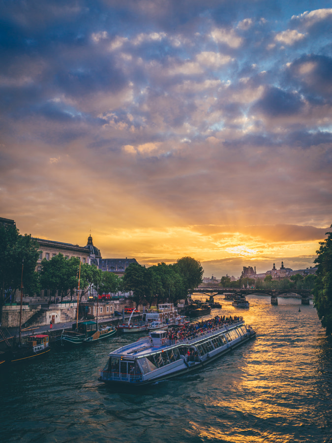 Sunset in Paris II