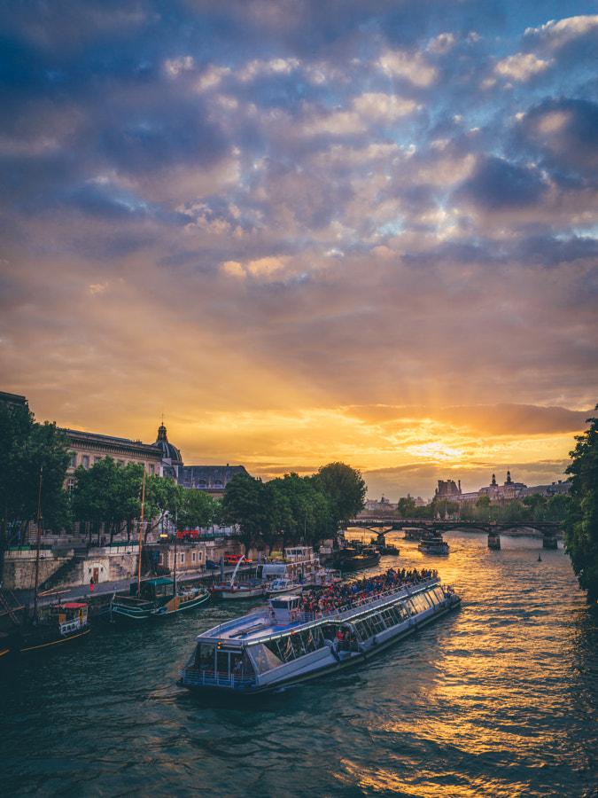 Sunset in Paris II